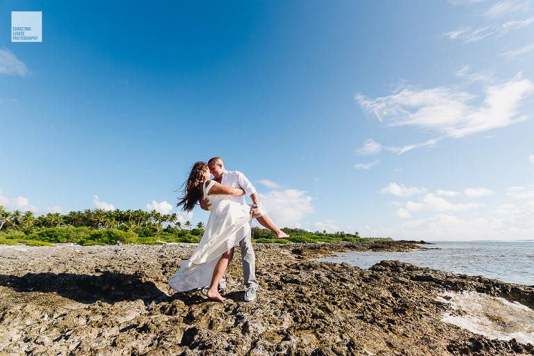 After Wedding Shooting am Strand - Christina Louise Photography