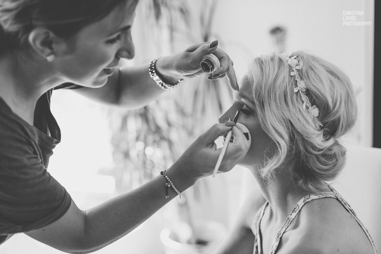 Getting Ready Düsseldorf - Christina Louise Photography